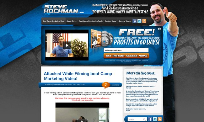 Steve Hochman Fitness Marketing Blog